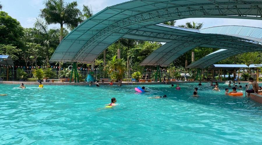 Công viên đảo ngọc xanh
