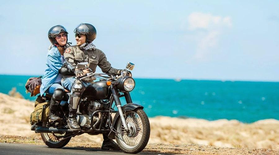 Đi đảo ngọc xanh bằng xe máy