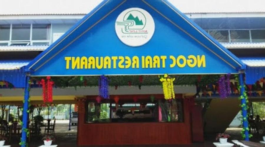 Nhà hàng ngọc trai đảo ngọc xanh